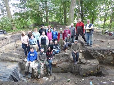 Field School auf der Burg Wölpe ist zu Ende gegangen