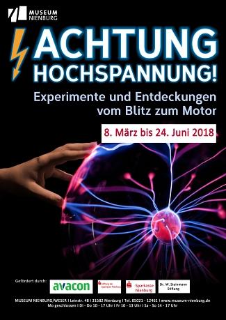Achtung Hochspannung©Museum Nienburg/Weser
