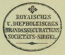 Brandassecurationssocietäts-Siegel