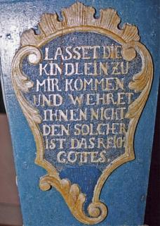 Brüstung links©Museum Nienburg/Weser