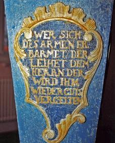 Brüstung rechts©Museum Nienburg/Weser