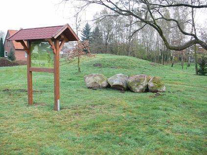 Das Grabhügelfeld in Erichshagen©Museumsverein für die Grafschaften Hoya, Diepholz und Wölpe