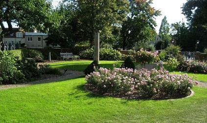 Der Garten im September©Museumsverein für die Grafschaften Hoya, Diepholz und Wölpe