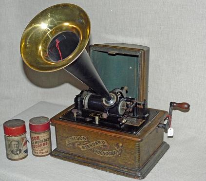 Edison Standard Phonograph©Museum Nienburg/Weser