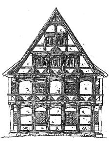 Gable View about 1610 © Museum Nienburg/Weser