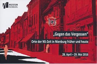 Gegen das Vergessen©Museum Nienburg/Weser