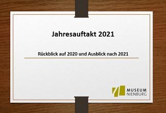 Jahresauftakt 2021©Museum Nienburg/Weser