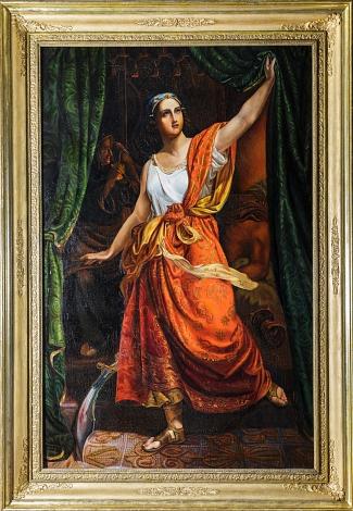 Judith, nachdem sie den Holofernes erschlagen