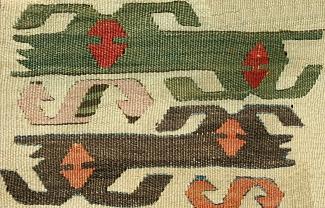 Kelim aus Westanatolien©Museumsverein für die Grafschaften Hoya, Diepholz und Wölpe