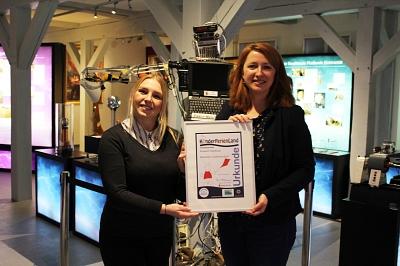 Museum Nienburg erhält Auszeichnung KinderFerienLand Niedersachsen