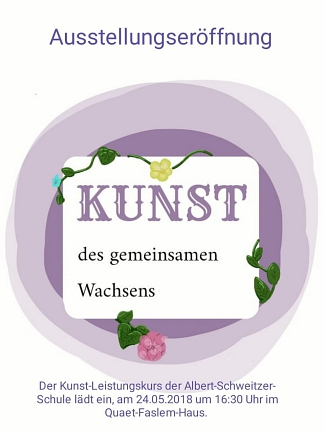 Leistungskurs Kunst ASS 2018 © privat