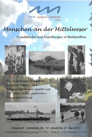 Menschen an der Mittelweser©Museumsverein für die Grafschaften Hoya, Diepholz und Wölpe