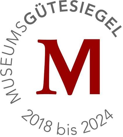Museumsguetesiegel 2018-2024©MVNB