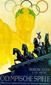 Plakat Olympische Spiele 1936