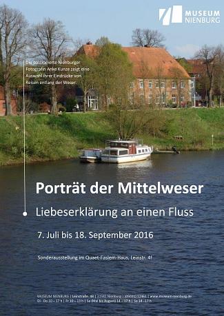 Porträt der Mittelweser_Plakat©Museum Nienburg/Weser