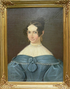 Porträt einer unbekannten Dame©Museumsverein für die Grafschaften Hoya, Diepholz und Wölpe