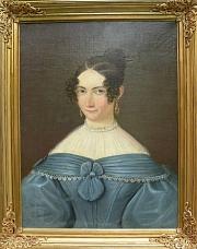 Porträt einer unbekannten Dame