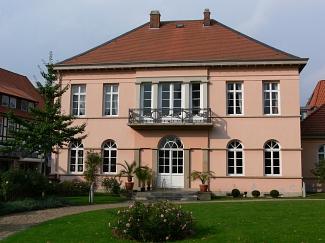 Quaet-Faslem-Haus, Gartenseite