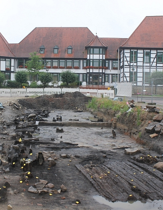 Rathaus von Rehburg-Loccum, Ausgrabungsareal