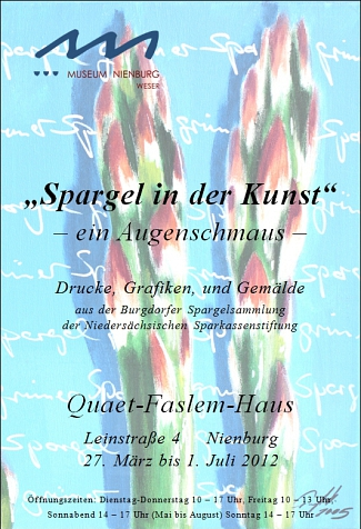 Spargel in der Kunst©Museumsverein für die Grafschaften Hoya, Diepholz und Wölpe