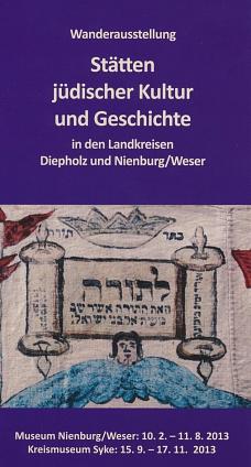 Stätten jüdischer Kultur und Geschichte©Museumsverein für die Grafschaften Hoya, Diepholz und Wölpe