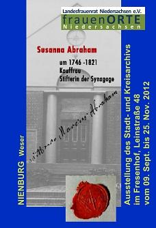 Susanna Abraham©Museumsverein für die Grafschaften Hoya, Diepholz und Wölpe