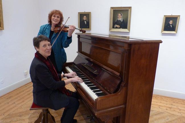 Tonka Angheloff und Valentina Rump©Museum Nienburg/Weser