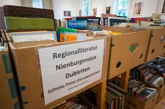 Verkauf von Regionalliteratur©Museum Nienburg/Weser
