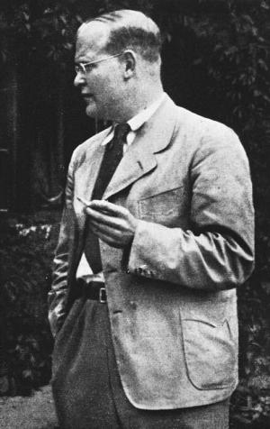 Dietrich Bonhoeffer, evangelischer Pfarrer und Theologe.