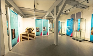 Ein Blick in den Ausstellungsraum.