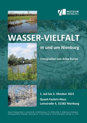 Wasser-Vielfalt - Fotografien von Anke Kunze